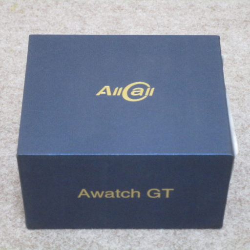 【レビュー】Playストアも使える高スペなスマートウォッチを使ってみた【AllCall Awatch GT】