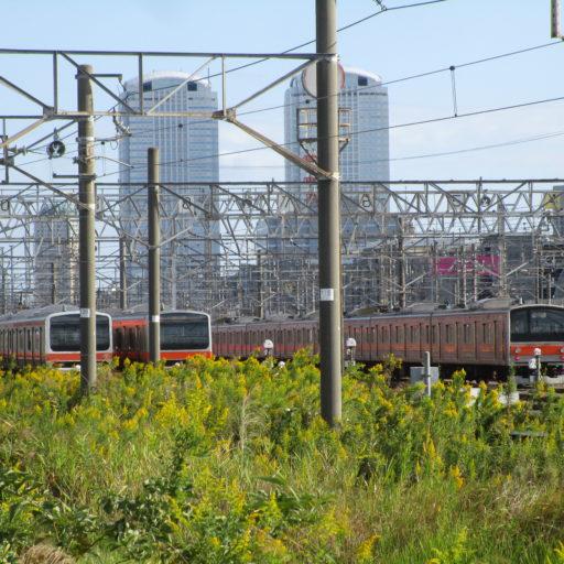 武蔵野線 最後のジャカルタ行きを京葉車両センターで撮影&新習志野駅でのファンサービス